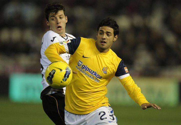 El jugador mexicano se sentía más valorado en el once ibérico. (vivelohoy.com)