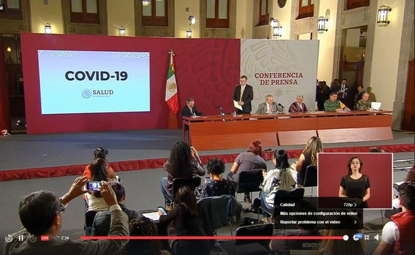 El gobierno federal incrementó las medidas para reducir el contagio del Covid-19, que estarán vigentes desde hoy y hasta el 30 de abril. (Foto: Ssa).
