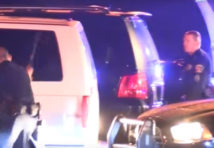 Elementos de la policía de California matan a Latino. (Captura de pantalla/Youtube)
