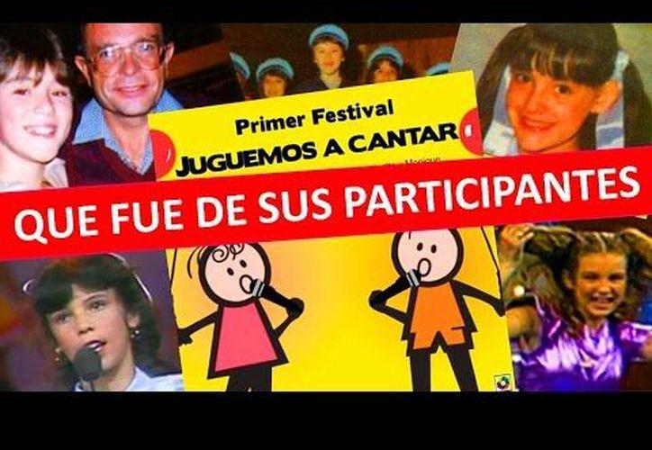'Juguemos a Cantar' se convirtió en uno de los festivales de talentos más importantes de toda América Latina. (Contexto/Internet)
