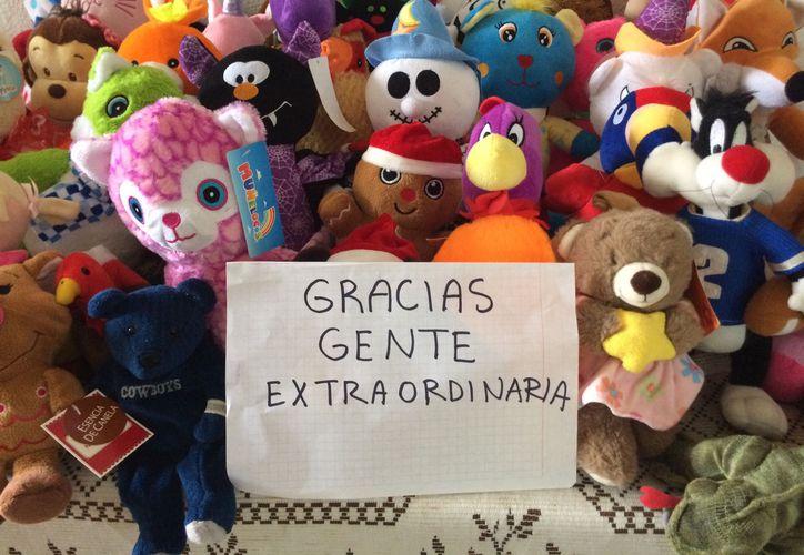 Gente Extraordinaria por primera vez repartirá muñecos de peluche entre los niños de dos colonias irregulares. (Eva Murillo/ SIPSE)