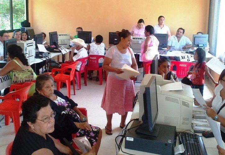 El programa, inaugurado en Umán, llegarán en la primera fase, a Dzilam de Bravo, Sisal, Tipikal en Maní, Xohuayán en Oxkutzcab e X-Box en Chacsinkín. (Cortesía)