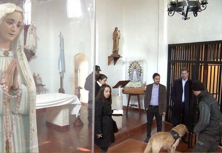 El Monasterio de Monjas Orantes y Penitentes saltó a la polémica luego de que un importante exfuncionario del kirchnerismo intentara esconder ahí fuertes sumas de dinero. (AP)