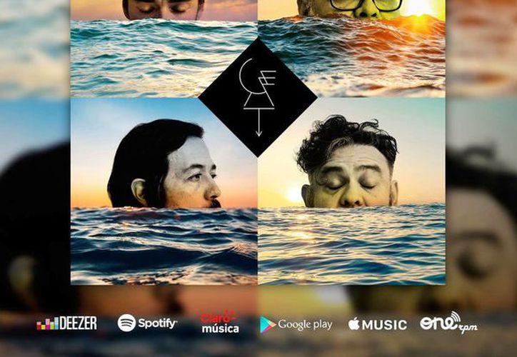 La portada de 'Un par de lugares', el nuevo tema de la banda Café Tacvba. (Facebook Café Tacvba Oficial)