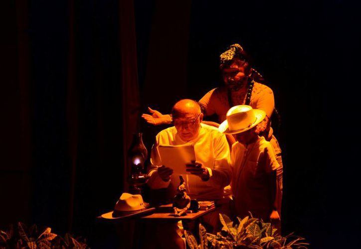 La acción de 'Voces olvidadad' se desarrolla entre relatos y apariciones de personajes místicos. (Milenio)
