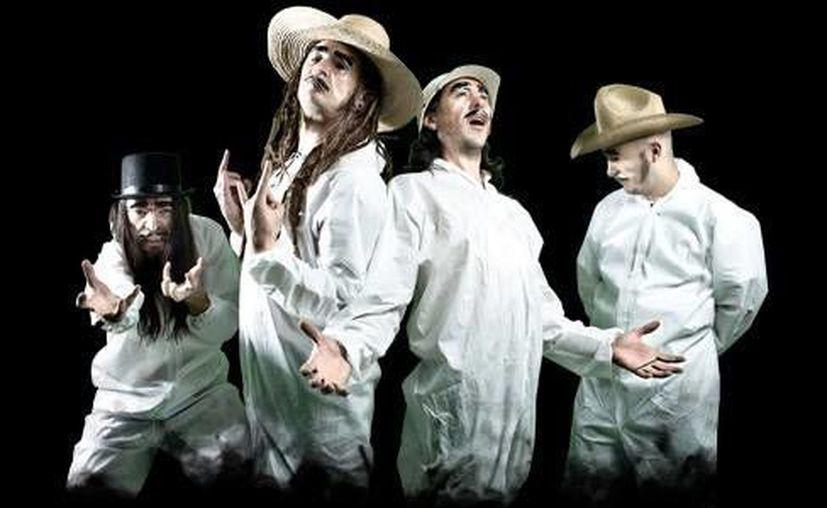 La banda mexicana Genitallica, compartirá el escenario con Miami Mami.(www.genitallica.mx)