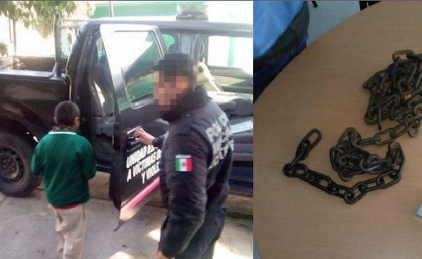 Una vecina hizo una llamada anónima para denunciar el maltrato que el menor recibía. (Foto: Heraldo de México)