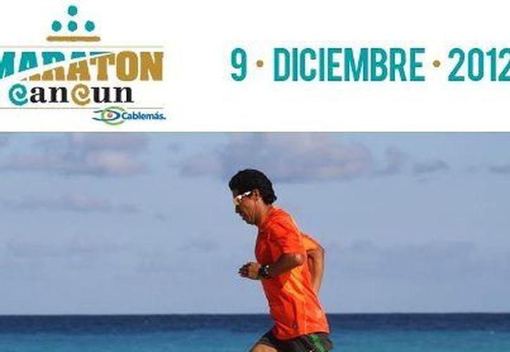 El maratonista Germán Silva llegara a Cancún hoy. (Cortesía/SIPSE)