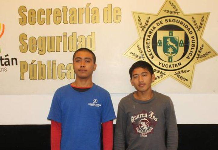 William Sansores y José Ku fueron capturados en la madrugada del sábado. (SIPSE)