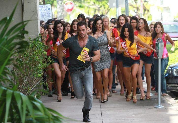 Le Tempestad marcará el retorno de William Levy a las telenovelas. (Agencias)