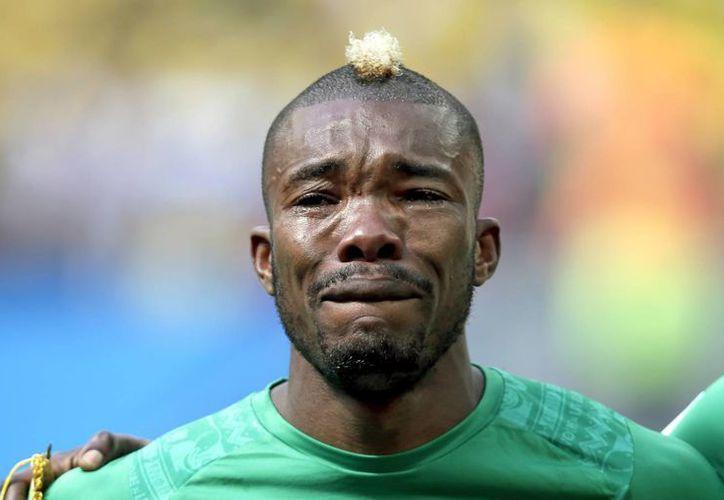 Die Serey aclaró que no lloró por la muerte de su padre, ya que este falleció hace años. (Foto: AP)