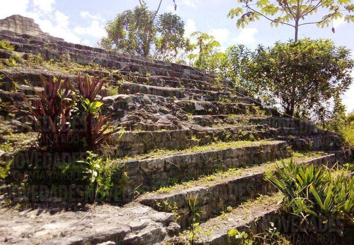 En abril de 2017, arqueólogos comenzaron con los trabajos en las ruinas de Ichkabal. (Foto: Javier Ortiz)