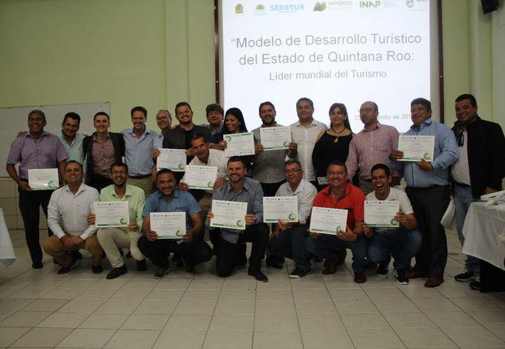 Presentan el Modelo de Desarrollo Turístico en Cancún y crean lazos de cooperación con Brasil y Colombia. (Fotos: Secretaría de Turismo)