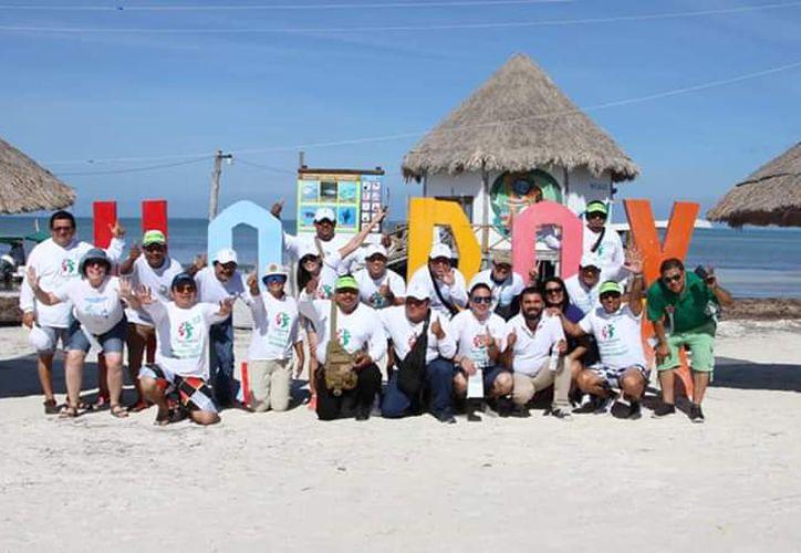 En las jornadas participaron integrantes de asociaciones civiles, empresarios y ciudadanía en general. (Ángel Castilla/SIPSE)