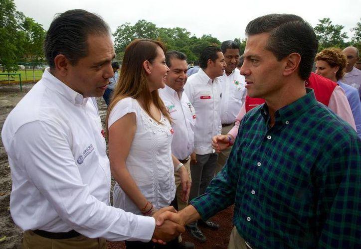 Peña Nieto aseguró que el compromiso de su gobierno es con el bienestar y la prosperidad de los mexicanos. (Presidencia)