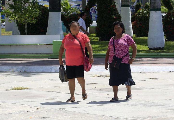 Quintana Roo ocupa uno de los primeros lugares con respecto a sobrepeso y obesidad, según la Encuesta Nacional de Salud 2012. (Harold Alcocer/SIPSE)