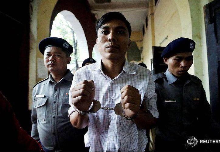 Hasta los primeros días de diciembre de este año, al menos 251 periodistas fueron encarcelados en todo el mundo. (Reuters)