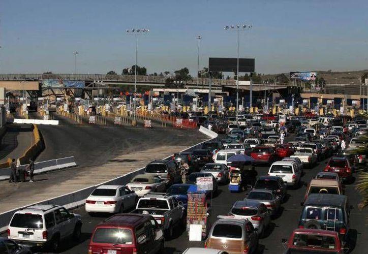 El bloqueo en las garitas de la frontera norte afecta a los sectores de maquila automotriz, eléctrica y electrodoméstica. (frontera.info)