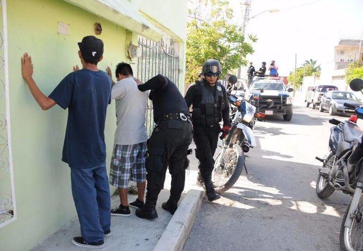 El pandillerismo es sancionado de acuerdo al Reglamento de Bando y Buen Policía. (Eric Galindo/SIPSE)