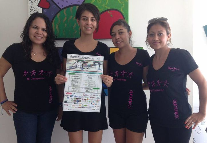 Invitan a todos los ciudadanos a participar en la carrera, se realizará el primero de junio. (Francisco Gálvez/SIPSE)