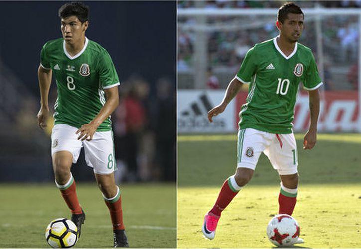 Tanto Erick Gutiérrez como Elías Hernández realizarán la rehabilitación con sus respectivos clubes. (Imago7)