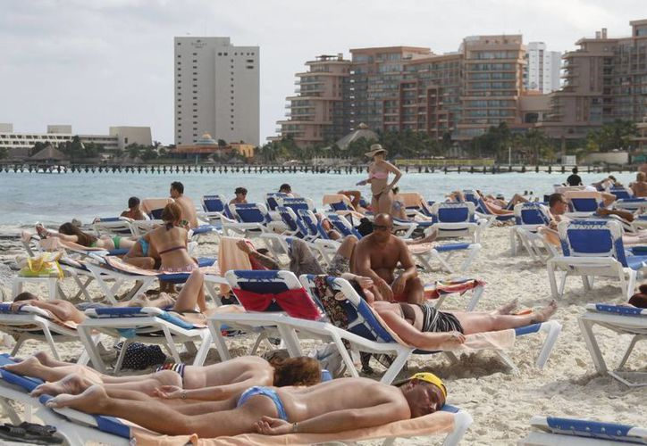 Aumenta ocupación de los cuartos hoteleros de este destino turístico. (Israel Leal/SIPSE)