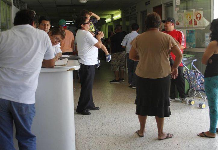 El Hospital General atendió los dos casos de golpe de calor. (Victoria González/SIPSE)
