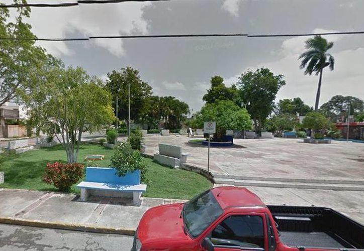 El bebé fue encontrado en el parque de la Miraflores la semana pasada. (Google Maps)