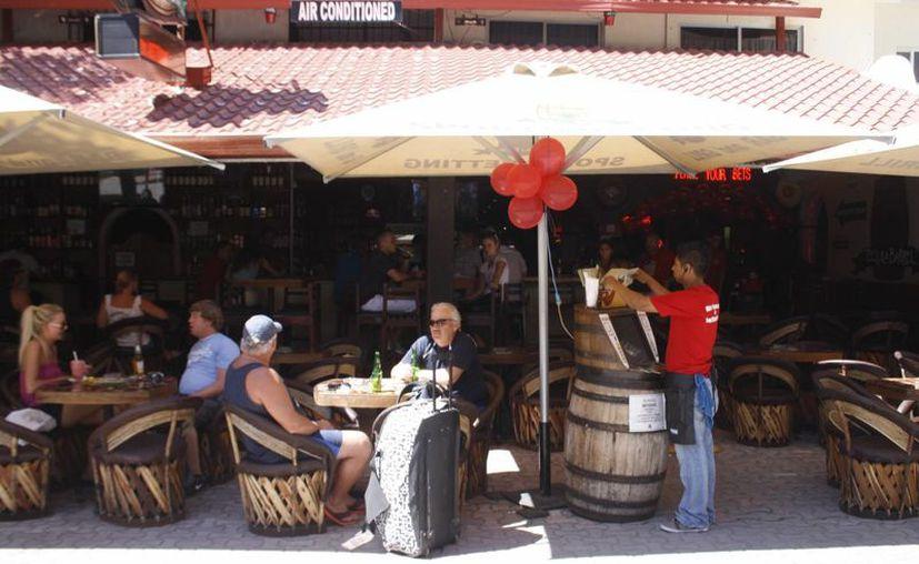 El sector restaurantero y el hotelero fue el más beneficiado con el fin de semana largo. (Adrián Barreto/SIPSE)