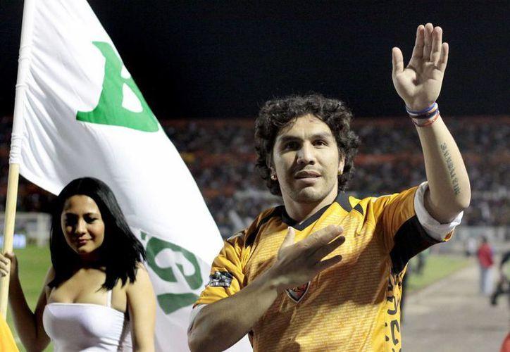 El club 12 de Octubre se negó a inscribir a Cabañas al torneo de apertura paraguayo debido a su mala forma. (EFE/Archivo)
