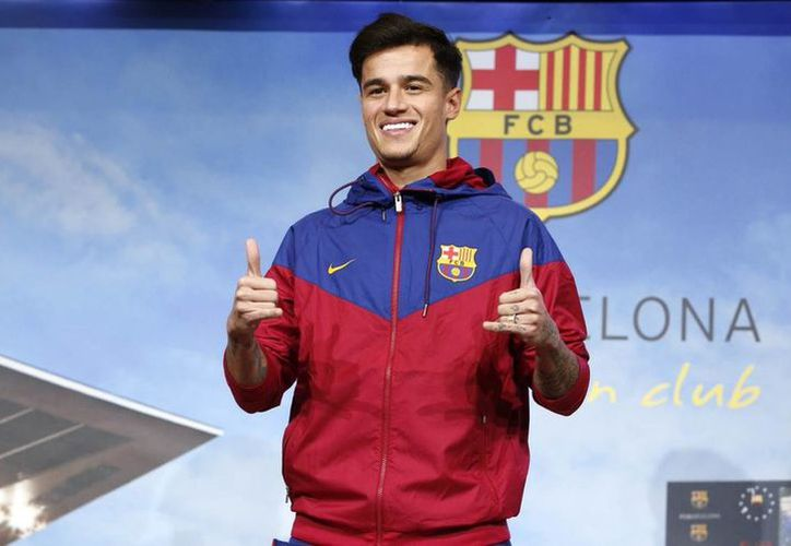 Este lunes, Philippe se convirtió ya definitivamente en parte del Barcelona. (Foto: Barcelona/Twitter)