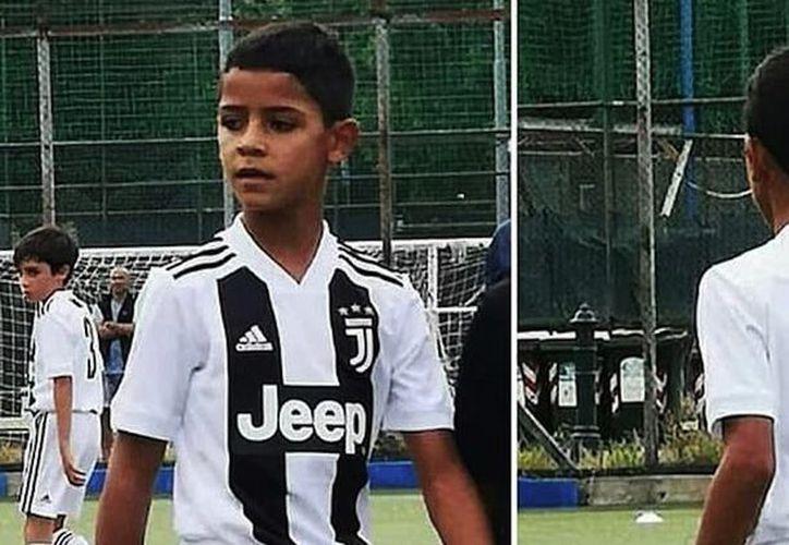 """Cristiano Júnior participó en la categoría """"Pulcini"""" del Juventus (Sin Embargo)"""