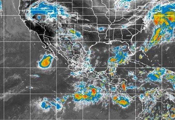 Los efectos de 'Polo' continuarán impactando el estado de Baja California Sur. (Conagua)
