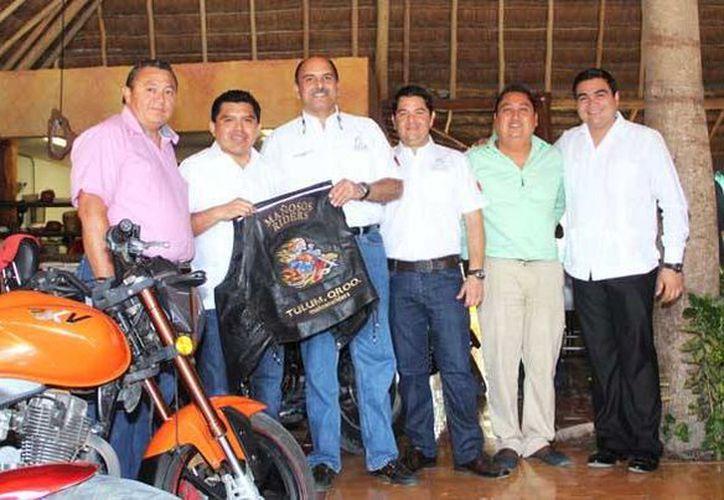 Desde este viernes y hasta el domingo se realizará en Tulum el segundo Moto Pachangón 2014. (Redacción/SIPSE)
