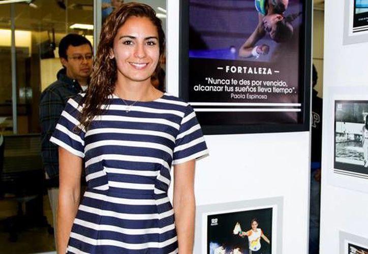 Paola Espinosa vislumbró gran participación de los clavadistas mexicanos en los Juegos Olímpicos Río de Janeiro 2016, debido a su alto nivel de competencia y sus recientes logros internacionales. (Notimex)