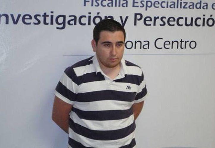Luis Gustavo Gómez Gómez, implicado en el crimen de los hermanos Páramo, fue capturado en la colonia Industrial, en Chihuahua. (Foto: cortesía)