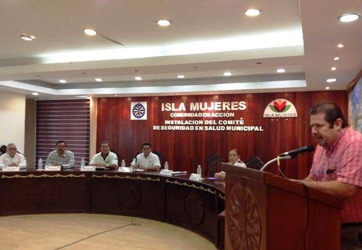 El Comité de Seguridad en Salud Municipal fue instalado la mañana de este miércoles. (Redacción/SIPSE)
