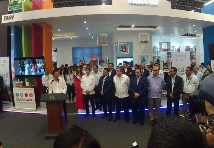 La feria se dio a conocer durante el evento turístico en Guadalajara. (Alejandro García/SIPSE)