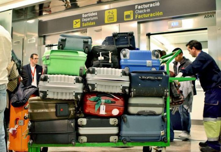 La Cámara de Diputados aprobó, entre otras cosas, que cuando el valor del equipaje facturado sea mayor a 200 salarios mínimos, el usuario podrá ser indemnizado por el valor total.  (Efe/Foto de contexto)