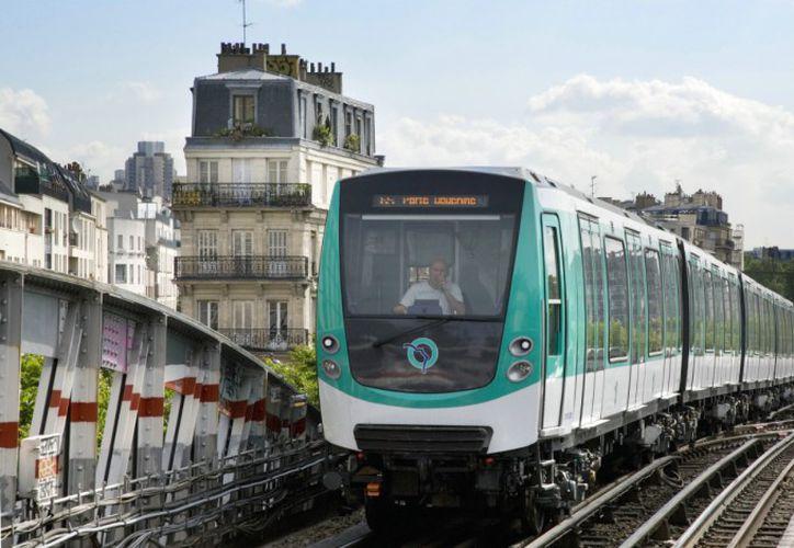 El bebé nació en un tren en el centro de París. (Internet)