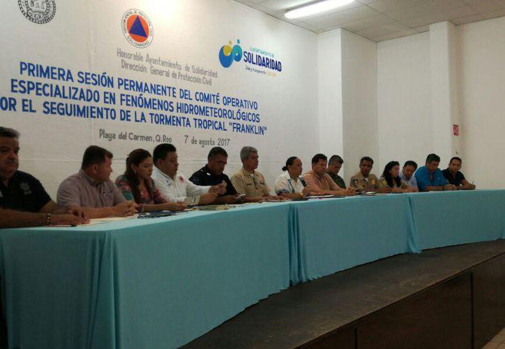 Las autoridades estarán pendientes de la evolución de la tormenta tropical. (Daniel Pacheco/SIPSE)