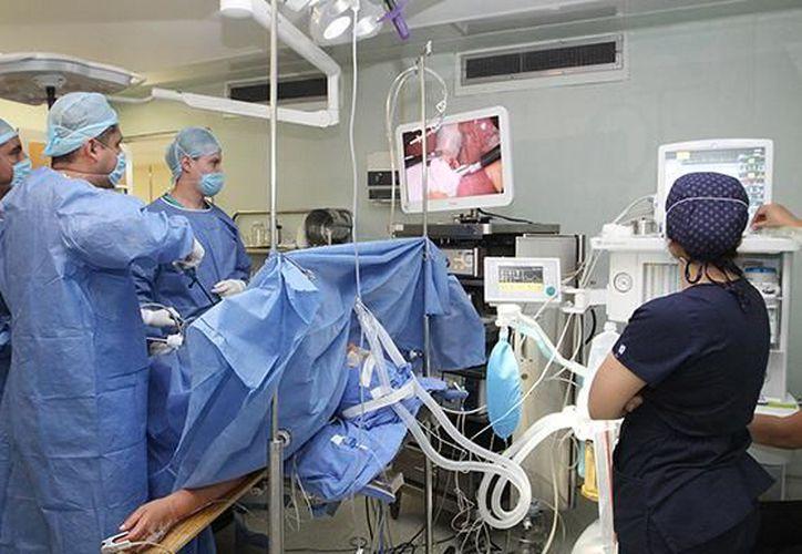 En el Seguro Social se realiza la mayoría de los procedimientos quirúrgicos.