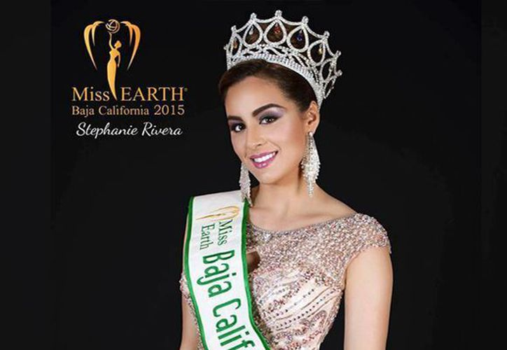 Stephanie Rivera fue elegida Miss Earth Baja California 2015. (Foto: Facebook)