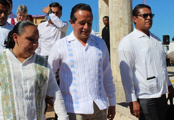 El gobernador de Quintana Roo, Carlos Joaquín, señaló que aún hay procesos pendientes contra ex funcionarios. (Foto: Adrián Barreto/SIPSE)