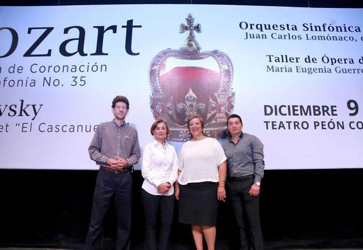 Integrantes del Taller de Ópera de Yucatán serán los encargados de acompañar a la Orquesta Sinfónica en el cierre de la temporada musical. (Milenio Novedades)