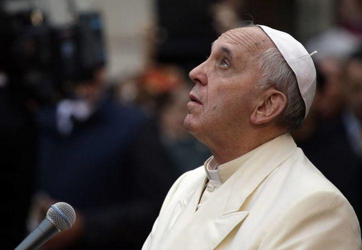 """El Papa también relacionó las dificultades de la paz en Tierra Santa a la """"parálisis de las conciencias"""". (Agencias)"""