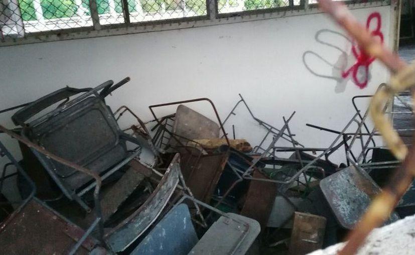La falta de recursos ha sido la explicación recibida por parte de las autoridades. (Joel Zamora/SIPSE)