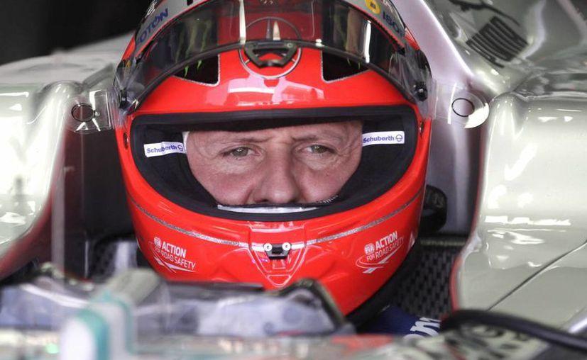 Schumacher fue inducido al coma tras el accidente de esquí sufrido en Los Alpes franceses. (Agencias)