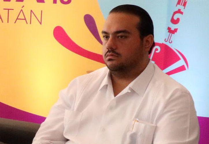 Héctor Navarrete Medina presidente de la Asociación Mexicana de Hoteles en Yucatán, aceptó que en noviembre la ocupación hotelera llegó al 80% y ahora llegaría al 75%. (Foto: Daniel Sandoval/Milenio Novedades)