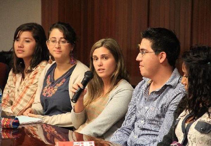 Estudiantes provenientes de distintas partes del país y del mundo compartieron sus expectativas. (Cortesía/Uqroo)